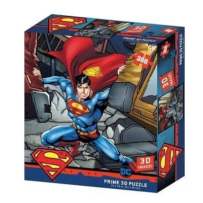Quebra Cabeça 3D Superman DC Comics 300 peças - Multikids - BR1322
