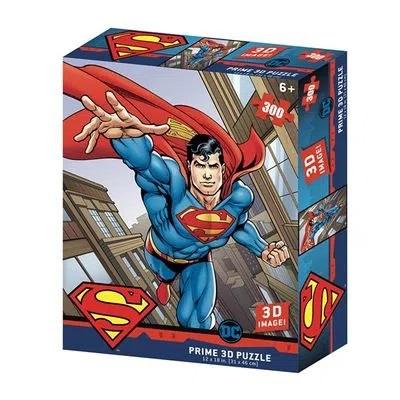 Quebra Cabeça 3D Superman Flying DC Comics 300 peças - Multikids - BR1326