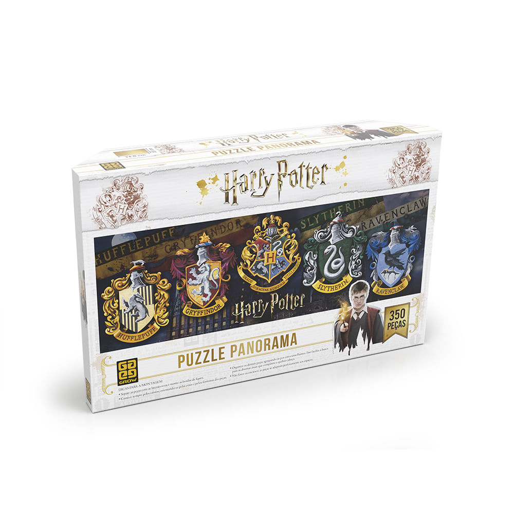 Quebra-Cabeça Puzzle 350 peças Panorama Harry Potter