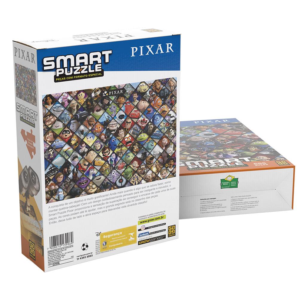 Quebra-Cabeça Puzzle 655 peças Smart Puzzle Pixar