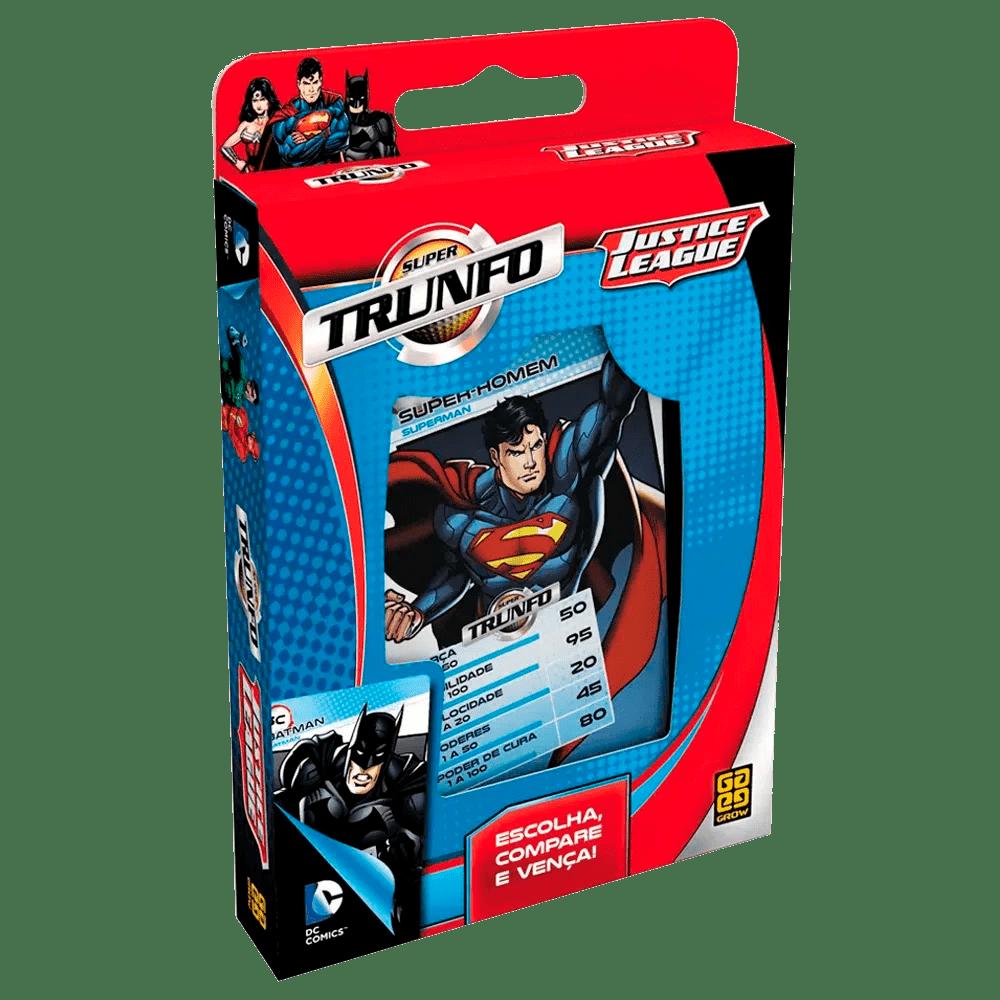 Super Trunfo Liga da Justiça