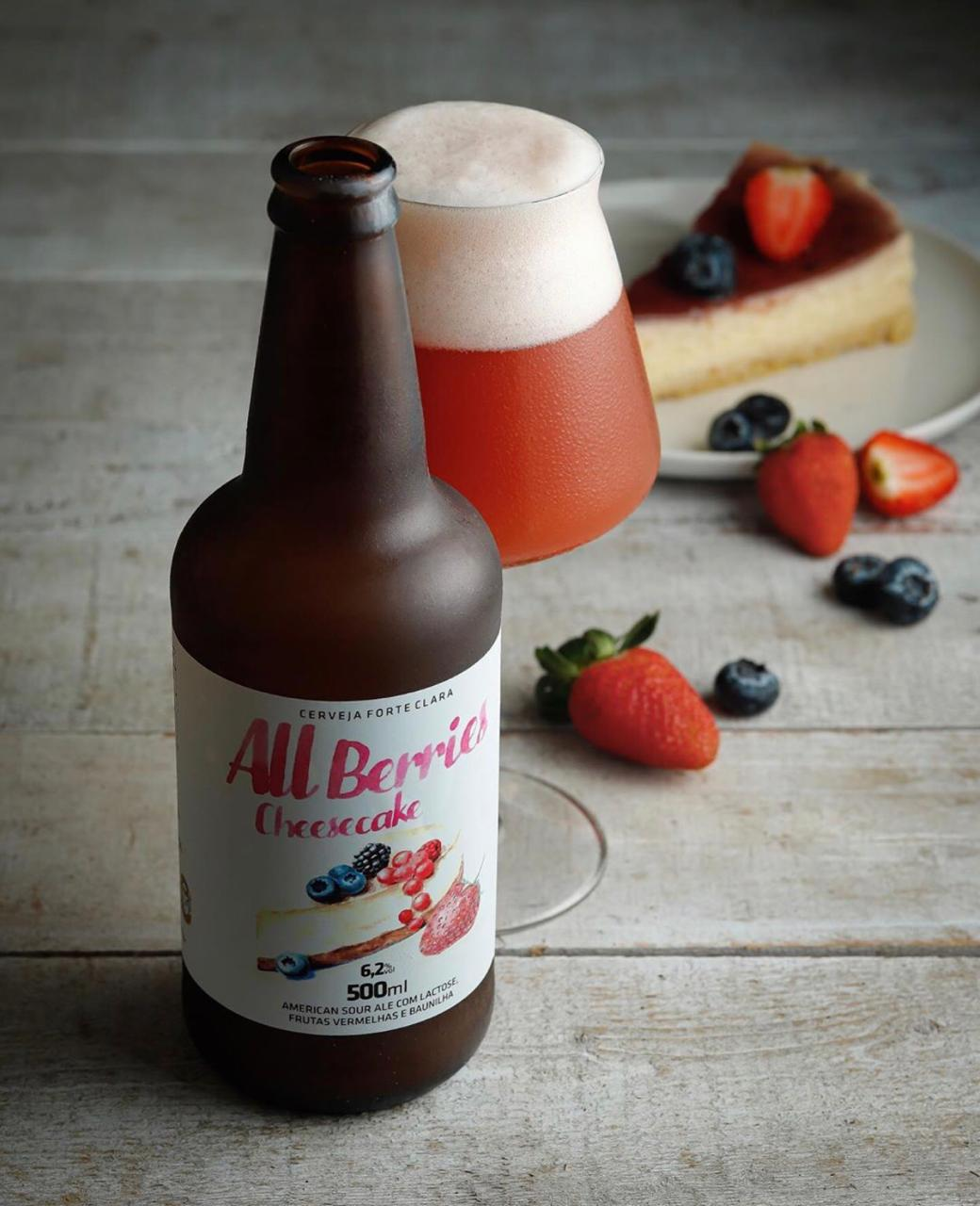 5 Elementos All Berries Cheesecake American Sour Ale 500ml