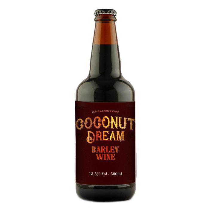 5 Elementos Coconut Dream  Barley Wine 500ml