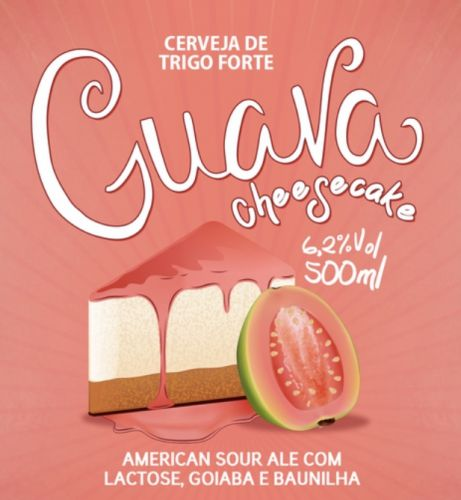 5 Elementos Guava Cheesecake American Sour Ale 500ml