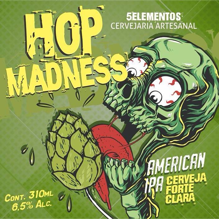 5 Elementos Hop Madness 310ml American IPA