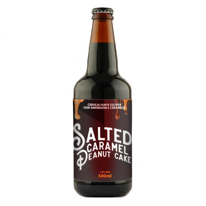 5 Elementos / Mindubier Salted Caramel Peanut Cake 500ml RIS