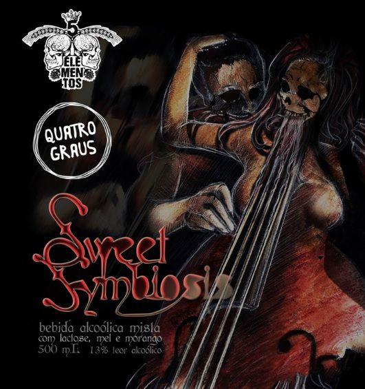 5 Elementos / Quatro Graus Sweet Symbiosis 500ml RIS