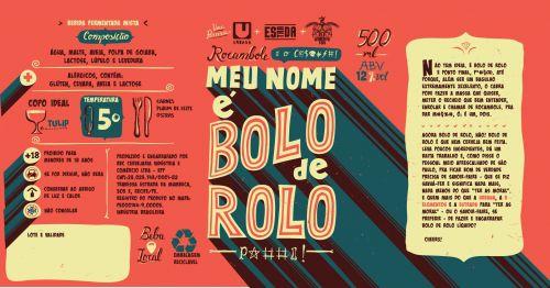 5 Elementos / Urbana / Estrada Rocambole Não è Bolo de Rolo 500ml RIS