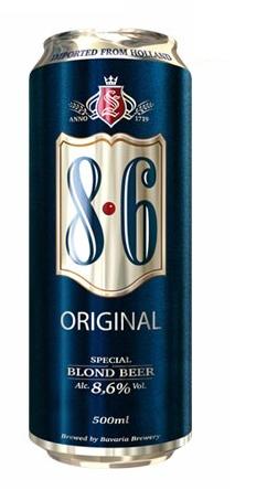 8.6 Blond Original Lata 500ml