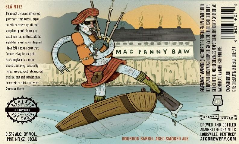 Against The Grain Mac Fanny Baw 750ml Smoked Ale BA