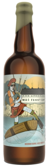Against The Grain Mac Fanny Baw 750ml Smoked Ale BA