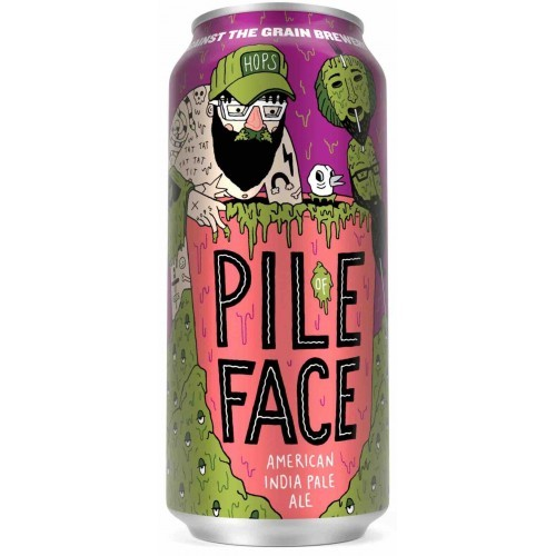Against the Grain Pile Face Lata 473ml IPA