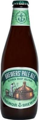 Anchor Brewers Pale Ale Citra Hop Blend 355ml