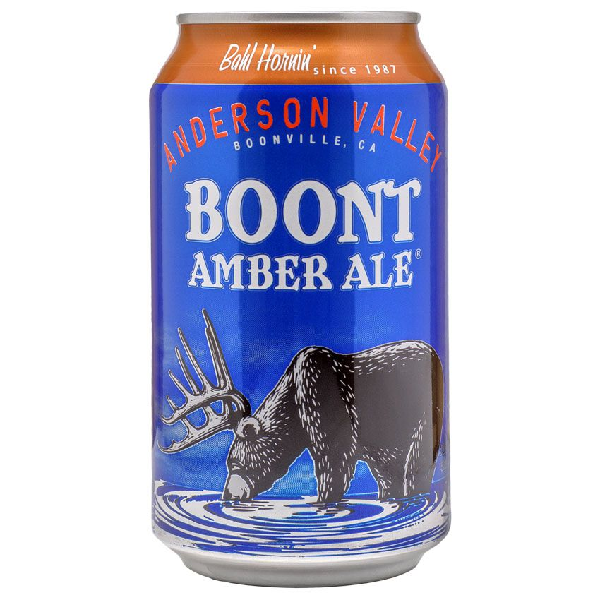 Anderson Valley Boont Amber Ale Lata  355ml