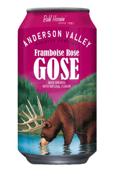 Anderson Valley Framboise Rose Gose Lata 355ml