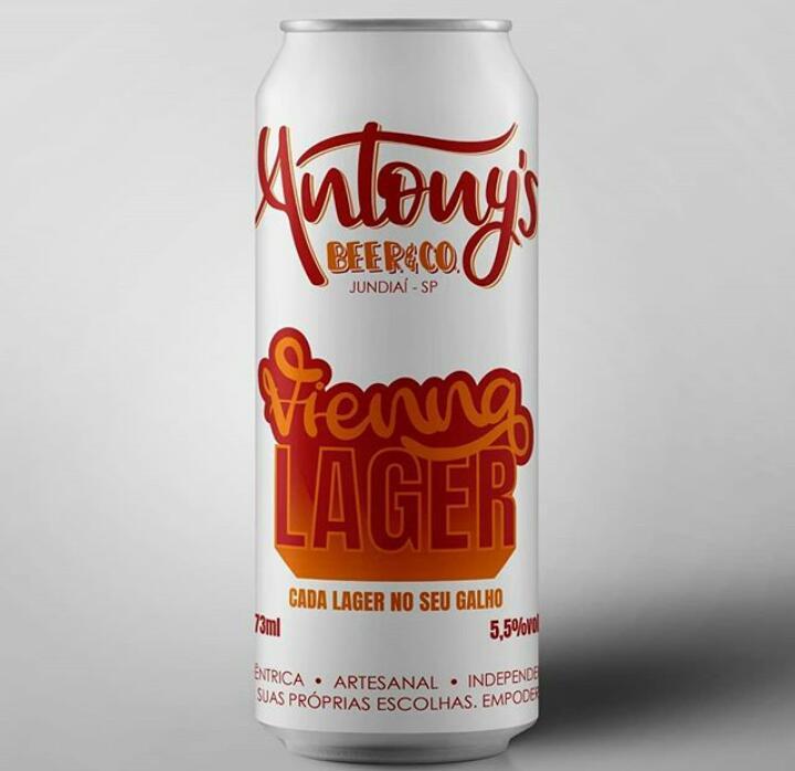 Antony's Beer & Co. Vienna Lager Lata 473ml