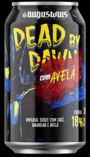 Augustinus Dead by Dawn Avelã Lata 350ml Ris com Café, Baunilha e Avelã