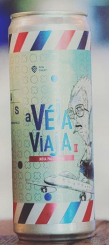 Avós A Véia Viaja 2 Lata 355ml Juicy Lager