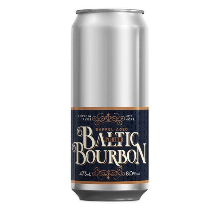 Avós Baltic Bourbon Barrel Aged Lata 473ml