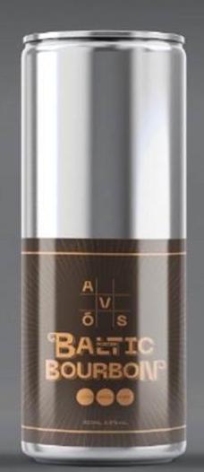 Avós Baltic Porter Bourbon - Lata 355ml
