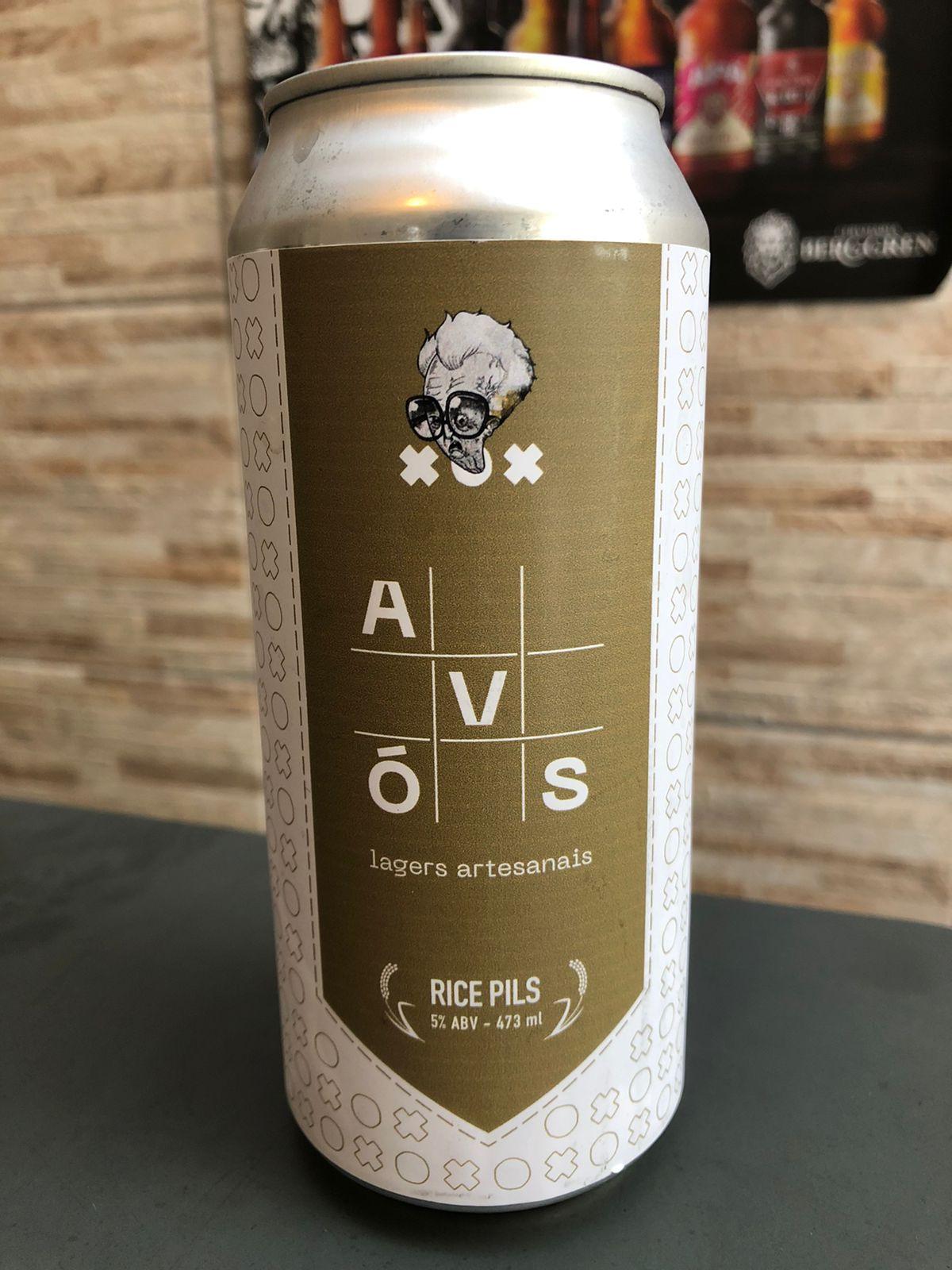 Avós Rice Pils - Lata 473ml