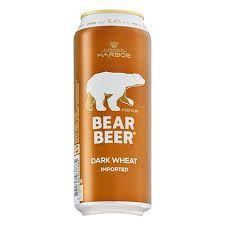 Bear Beer Dark Wheat Lata 500ml