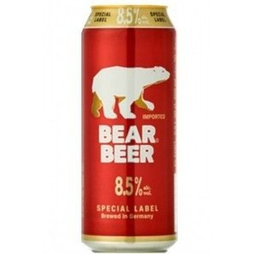 Bear Beer Special Label Red 8% Lata 500ml
