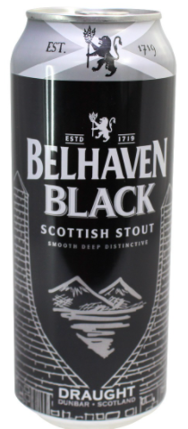 Belhaven Black Scottish Stout Lata 440ml