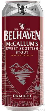 Belhaven McCallum's Lata 440ml Sweet Stout