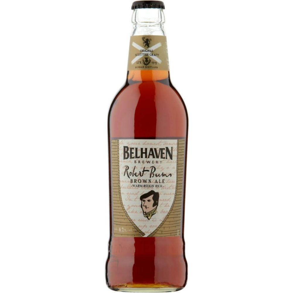 Belhaven Robert Burns 500ml Brown Ale