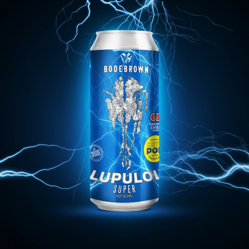 Bodebrown Lupulol Super Hop Blend - Lata 473 - India Pale Lager