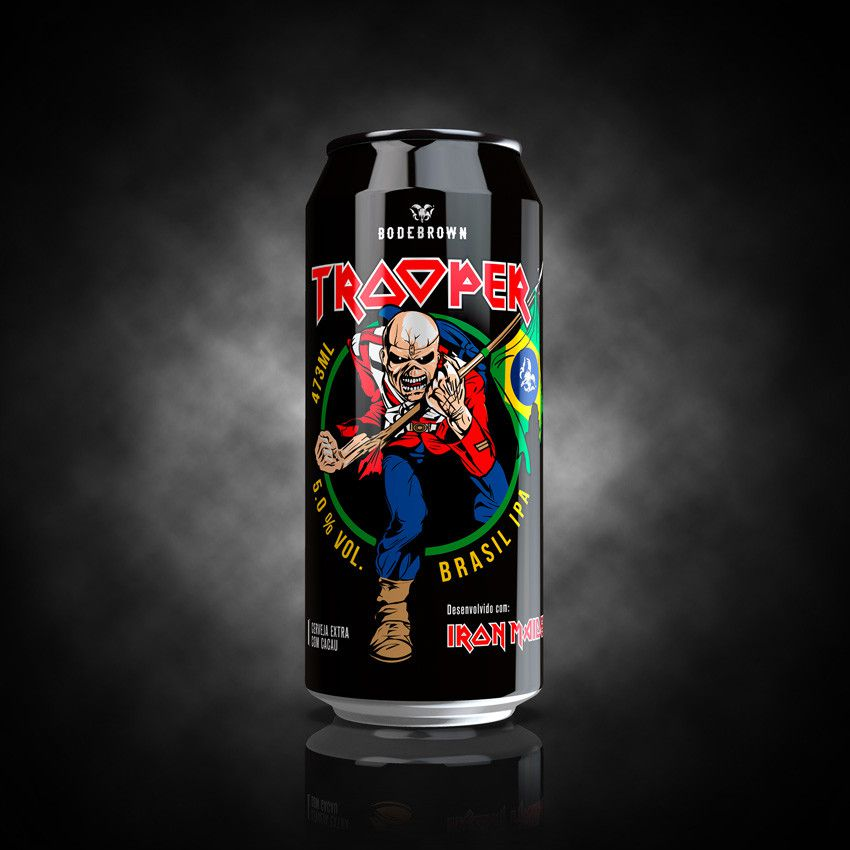 Bodebrown Trooper Brasil  IPA Lata  473ml