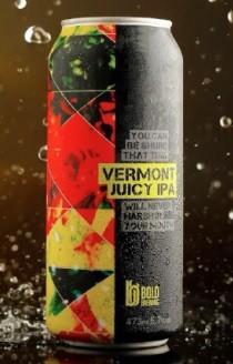 Bold Brewing Vermont Juicy IPA Lata 473ml