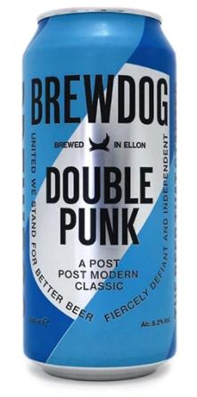 Brewdog Double Punk Lata 473ml  VALIDADE 31/01/21