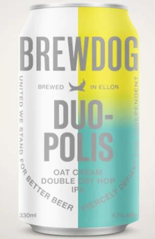 Brewdog Duopolis Lata 330ml Oat Cream DDH IPA