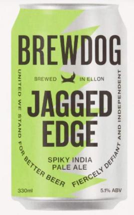 Brewdog Jagged Edge Lata 330ml Spiky India Pale Ale
