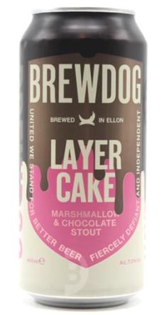 Brewdog Layer Cake Lata 440ml Stout com Marshmallow e Chocolate