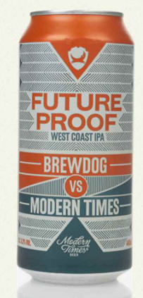 Brewdog Vs Modern Times Future Proof Lata 440ml West Coast IPA