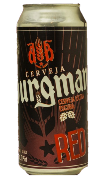 Burgman Red Lata 473ml