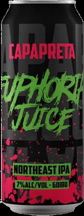 Capa Preta Euphoria Juice Northeast IPA Lata 473ml