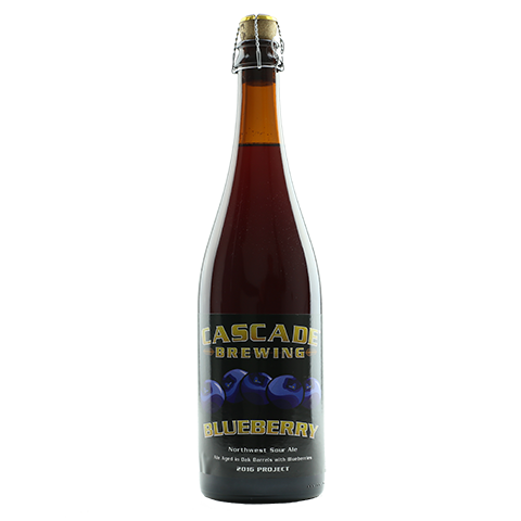 CAscade Brewing Blueberry 2016 750ml Sour Ale