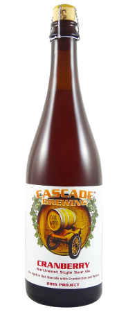 Cascade Brewing Cranberry 2016 750ml Sour Ale