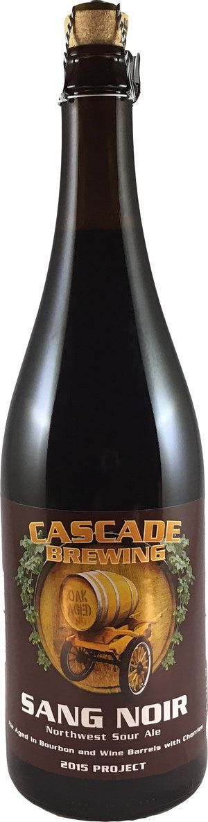 Cascade Brewing Sang Noir 2015 750ml Sour Ale