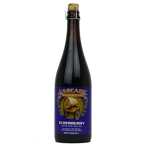 Cascade Edelberry 2015 750ml Sour Ale