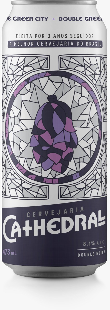 Cathedral Double Green City 473ml Double NEIPA