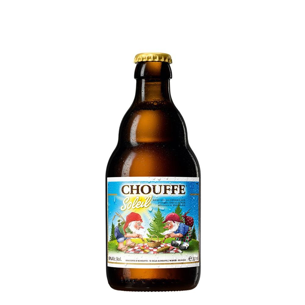 Chouffe Soleil 330ml Saison - VENCIMENTO 30/08/2019