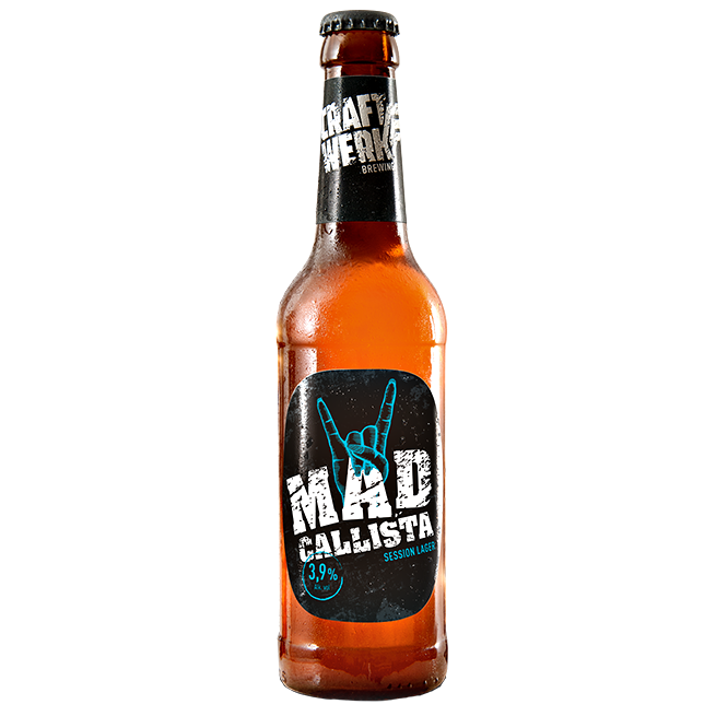 Craftwerk Mad Callista 330ml Pale Lager
