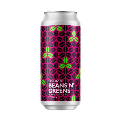 Croma Beans N' Greens - Lata 473ml - Double Coffee Ipa