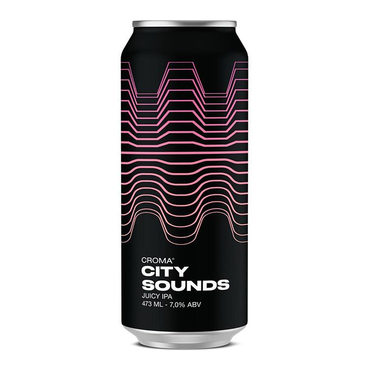 Croma City Sounds Lata 473ml  Juicy IPA