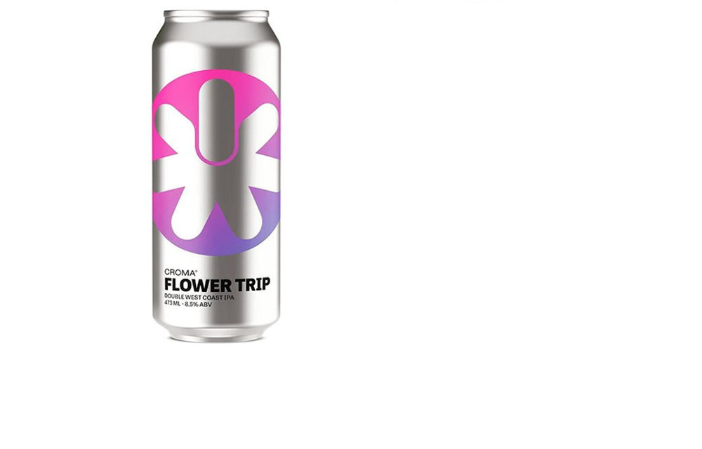 Croma Flower trip  Lata 473ml Double West Coast IPA